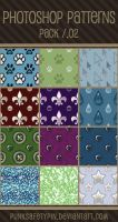 Photoshop Patterns - Pack 02 by punksafetypin