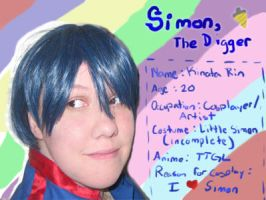 Simon the Digger DA id by lp-slash-queen