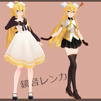 TDA Kagamine Lenka 2.00 Download by K-Channnn