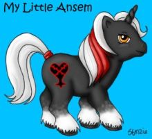 My Little Ansem by sforzie