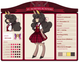 StMortiel App: Clarice Lockwood (update 7/8) by alsoword