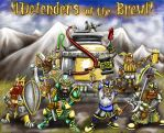 Defenders of the Brew by Heavyarmorhellfire