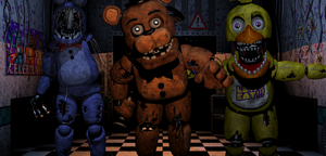 Old Animatronics Attack! by DemoskOmicron