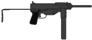 US Submachine Gun M3 by DaltTT