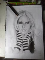 AVRIL LAVIGNE: FINISHED by drawmyownworld