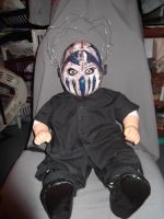 24 in Stitch of Mushroomhead doll for contest by thedollmaker