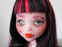 Monster high draculaura by hellohappycrafts