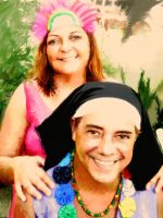 Miguel and my wife by Passavante
