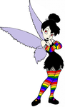 Goth Tinkerbelle by Sailor-girl1234