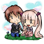 CE: A cute flower for a cuter lady. by Eu-saama
