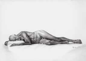 Old men nude by Papkalaci