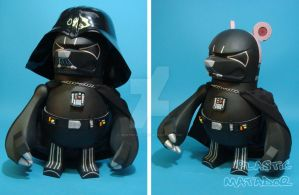 DARTH VADER Knuckle Bear by ibentmywookiee