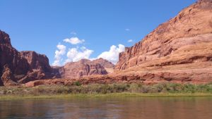 Red rocks/river by killer99s5d