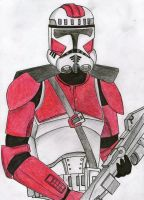 Galactic Marine clone trooper by Funtimes