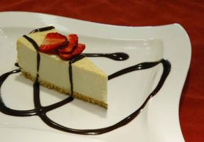 Simple Cheesecake by Maellanie