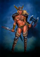 Viking Warrior by donjapy2011