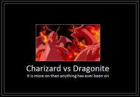 Charizard vs Dragonite Meme 2 by 42Dannybob