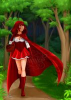 Ruby riding hood by Geminine-nyan