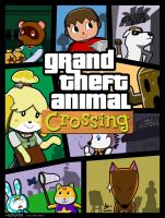 Grand Theft Animal Crossing by azfar-90