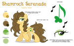 Shamrock Serenade Reference Sheet by LittleHybridShila