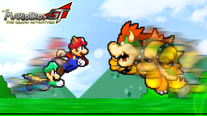 Mario Brothers vs. Bowser by KingAsylus91