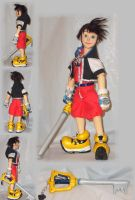 Sora doll -fully jointed by AtomicBunny