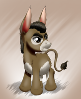 PonyGAF burro 24: Nobodyspatzy by MykeGreywolf
