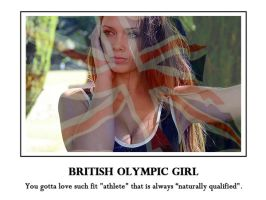 Louisa Marie Olympic motivational poster by magXlander