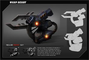 Warp Derby | Impulse Magent Gun by RyomaNinja