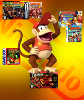 Diddy Kong's Games by sonictoast