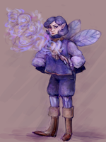 periwinkle by astrophrenia