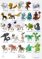 Pokemon Oryu collection 7 by shinyscyther