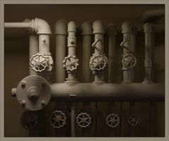 Pipe Buglers by DouglasHumphries