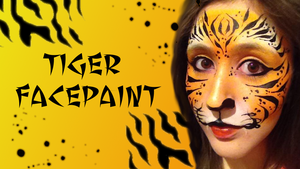 Tiger Facepaint Tutorial by SophieXSmith