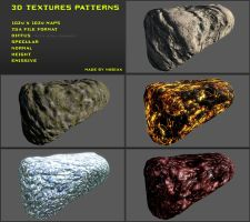 Free 3D textures pack 15 by Nobiax