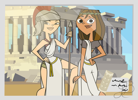 Greek Goddesses by GwennieBlack