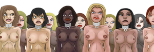 gladiatorial slavegirls by julianapostata