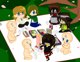 picnic story (COLLAB CLOSED) by Slendergirl2012