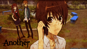 Wallapaper Another Anime by cuentajaponesa