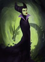 Maleficent by Giando1611990