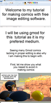 Tutorial - How to make comics with free software. by mattwo