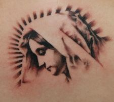 Mother Mary by allentattoo