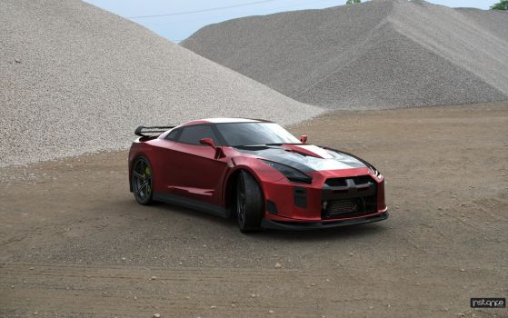 Nissan R35 Raptor-X by TheSaladMan