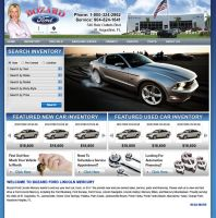 Bozard Ford Web Design by xstortionist