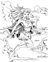 Supergirl Inked by WEDMER