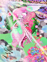 Beauteous Radiant Garden by PaintHerDream