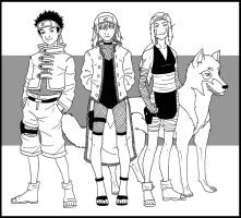 Naruto OCs Commission by whisperelmwood