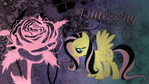 Emo Fluttershy Wallpaper by Chadbeats