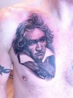 Beethoven Portrait by state-of-art-tattoo