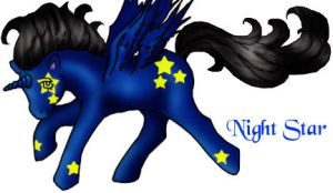 Night Star by ladydragon069